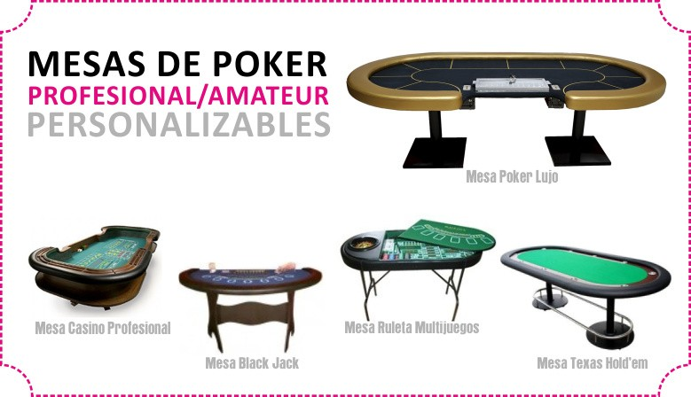 personalización mesas poker