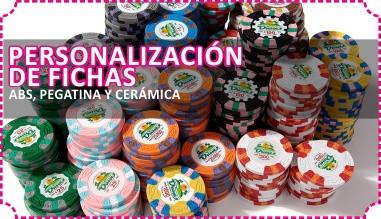 personalización de fichas de poker